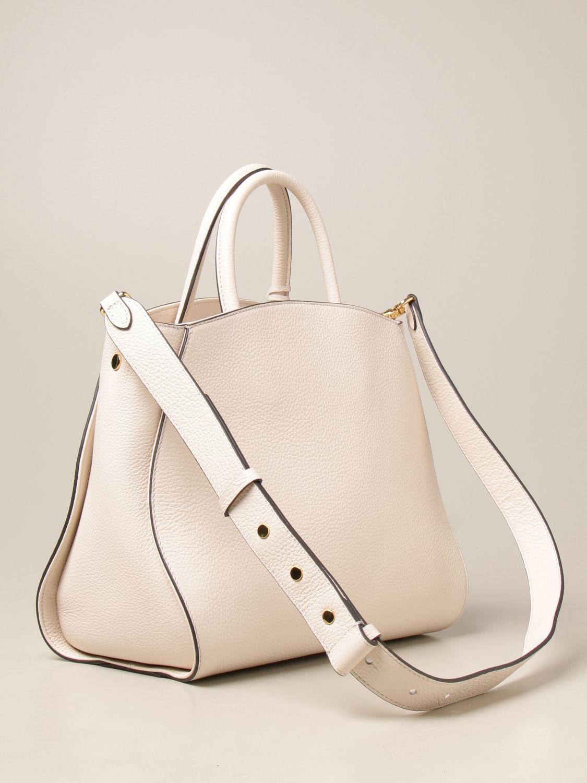 Handtasche Coccinelle: Handtasche damen Coccinelle weiß 2