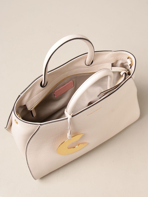 Handtasche Coccinelle: Handtasche damen Coccinelle weiß 3