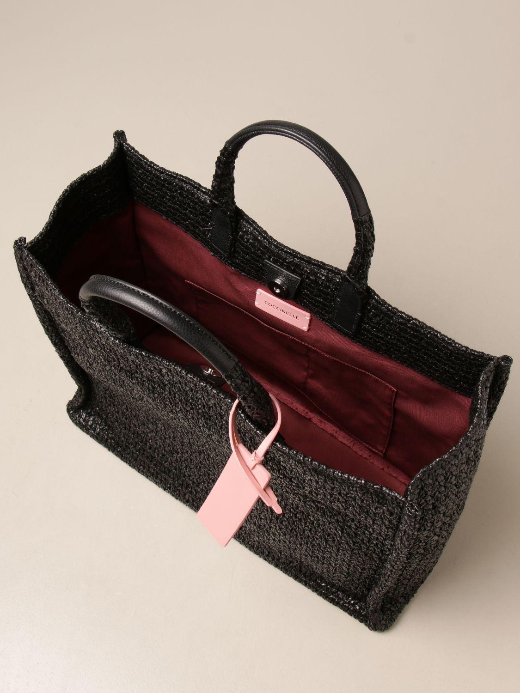 Handtasche Coccinelle: Handtasche damen Coccinelle schwarz 3