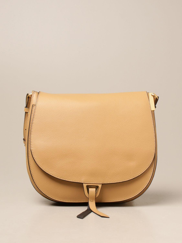 Schultertasche Coccinelle: Schultertasche damen Coccinelle beige 1