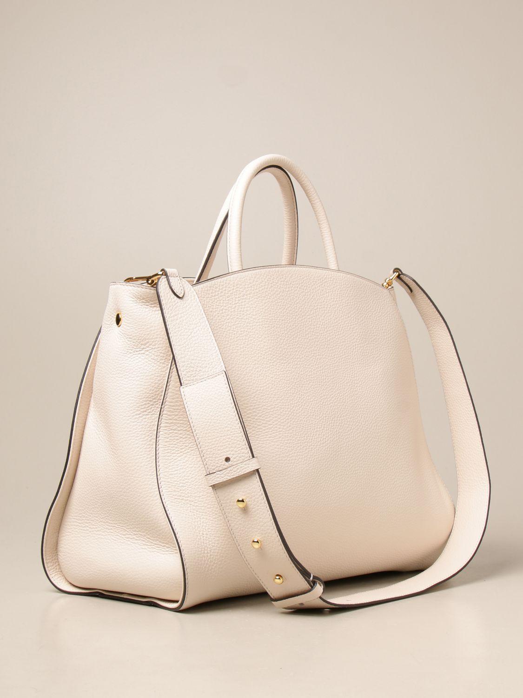 Handtasche Coccinelle: Schultertasche damen Coccinelle weiß 2