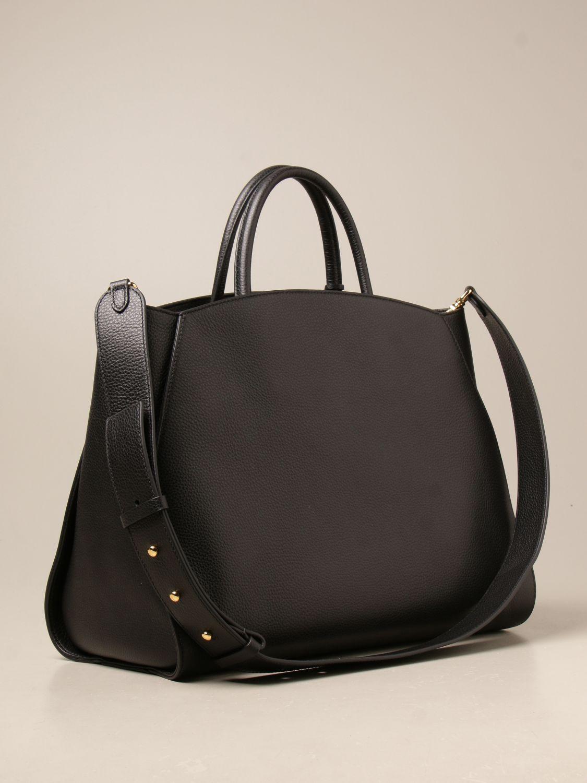 Handtasche Coccinelle: Schultertasche damen Coccinelle schwarz 2