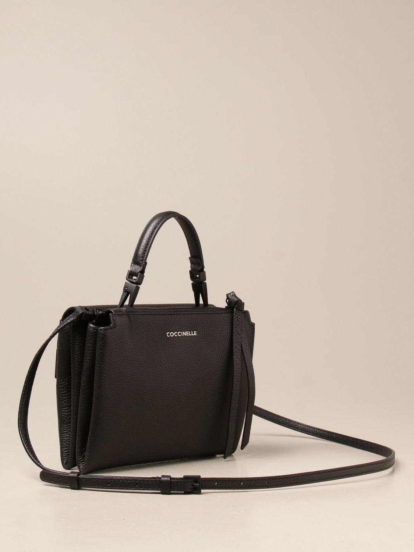 Handtasche Coccinelle: Handtasche damen Coccinelle schwarz 2