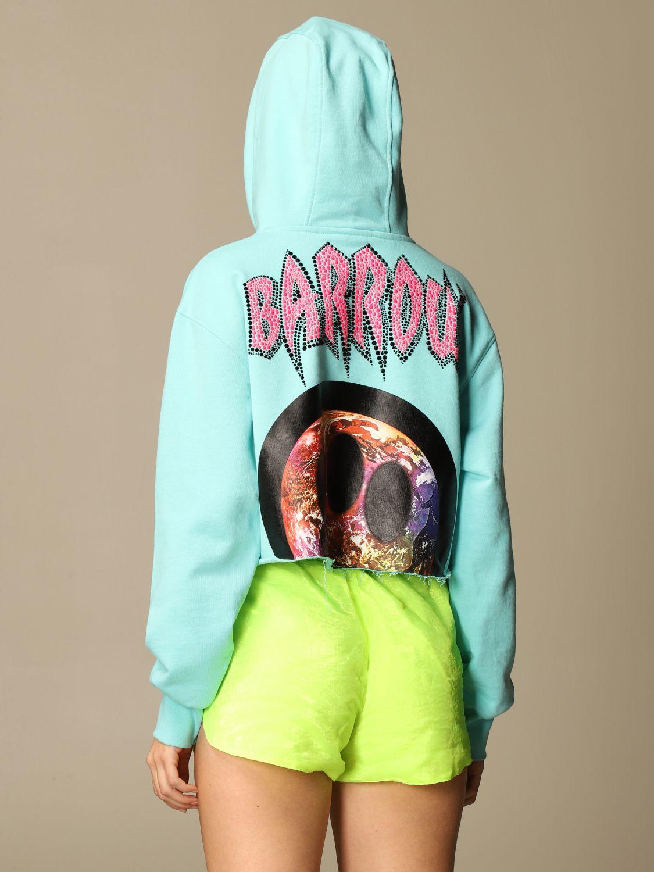 卫衣 Barrow: 卫衣 女士 Barrow 绿松石蓝 3