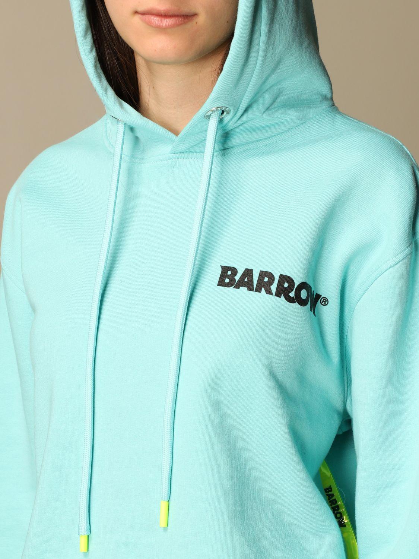 卫衣 Barrow: 卫衣 女士 Barrow 绿松石蓝 4
