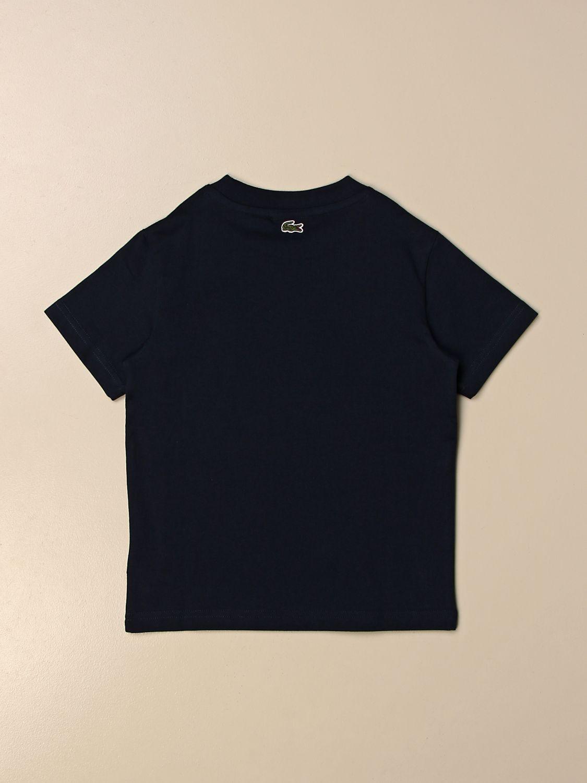 T-shirt Lacoste: T-shirt enfant Lacoste bleu 2