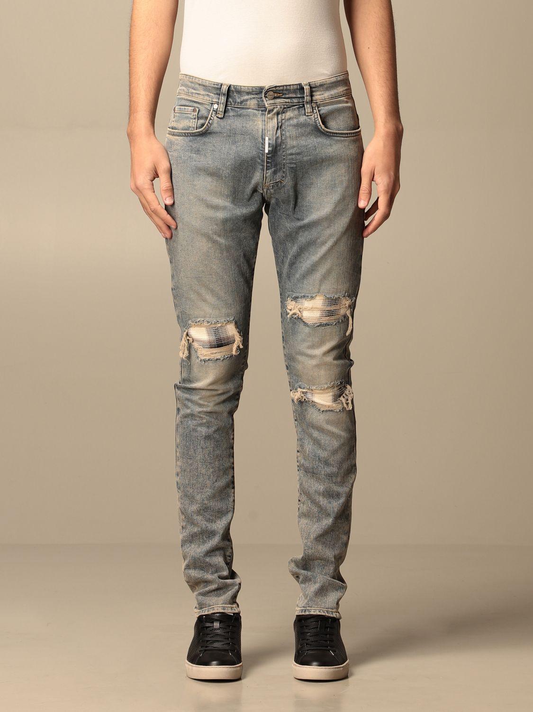 牛仔裤 Represent: 牛仔裤 男士 Represent 蓝色 1