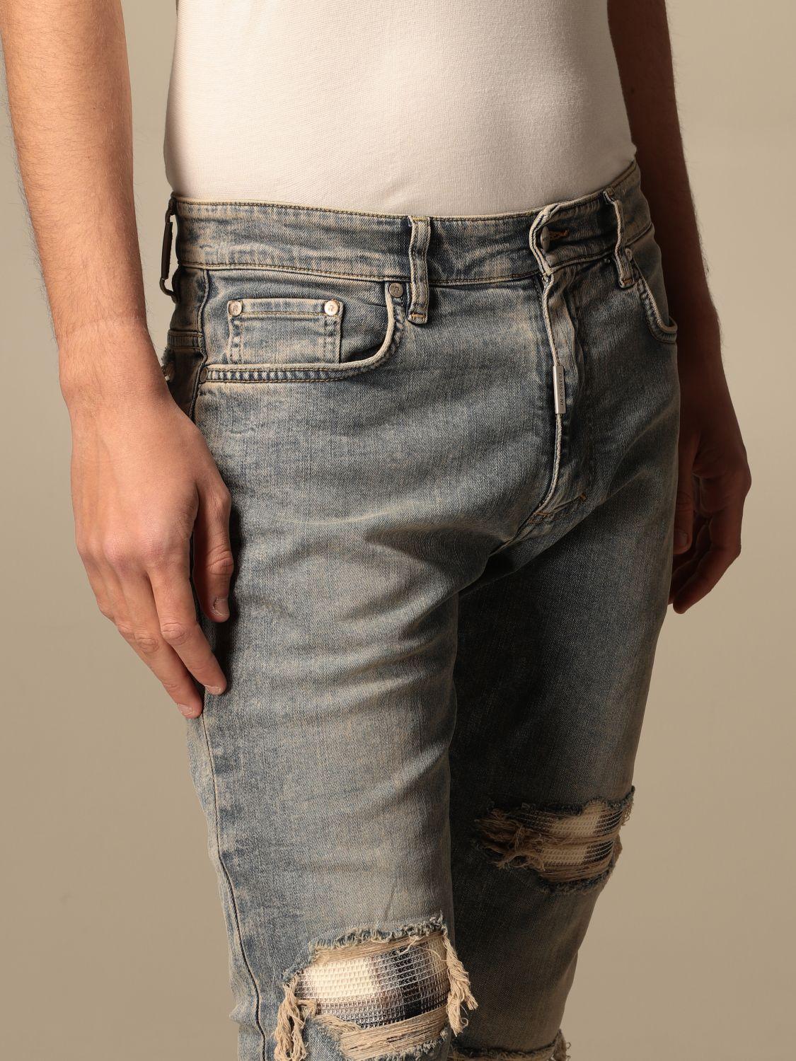 牛仔裤 Represent: 牛仔裤 男士 Represent 蓝色 4