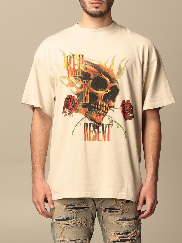 T恤 Represent: T恤 男士 Represent 白色 1