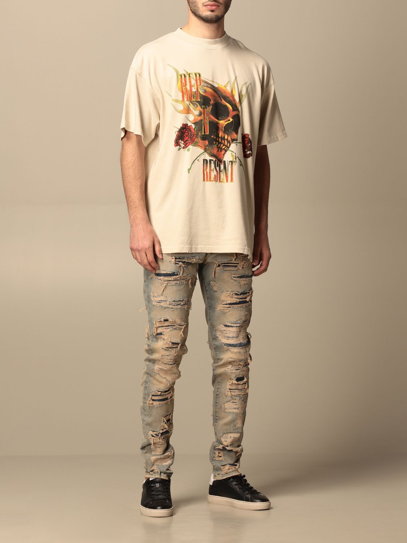 T恤 Represent: T恤 男士 Represent 白色 2