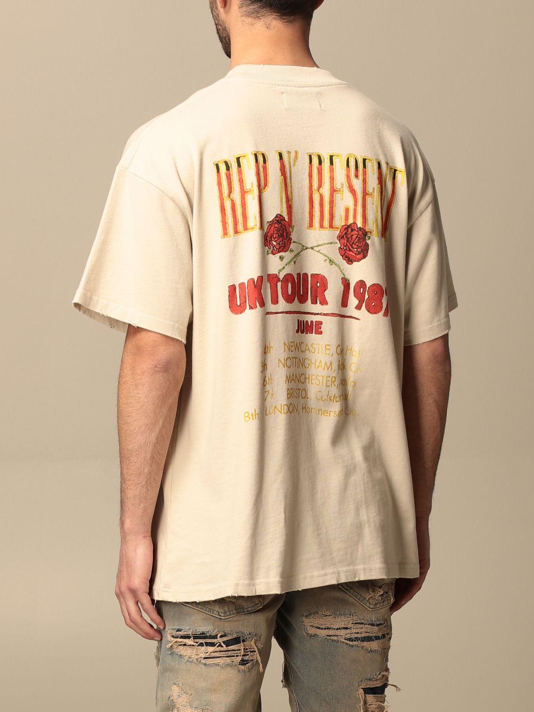 T恤 Represent: T恤 男士 Represent 白色 3