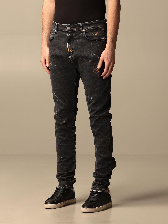 牛仔裤 Represent: 牛仔裤 男士 Represent 黑色 3