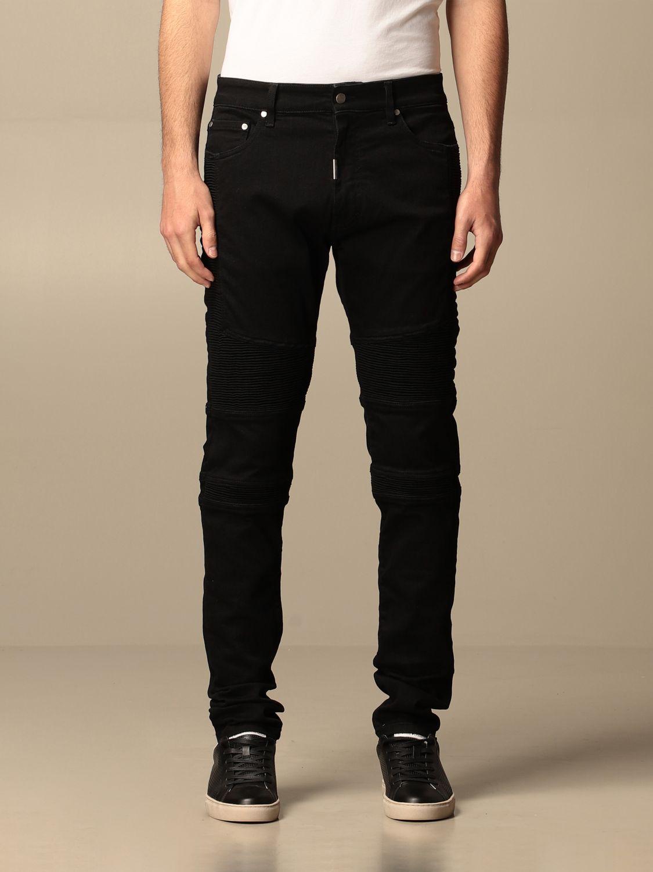 牛仔裤 Represent: 牛仔裤 男士 Represent 黑色 1
