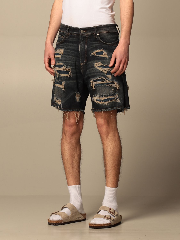 短裤 Represent: 短裤 男士 Represent 蓝色 3