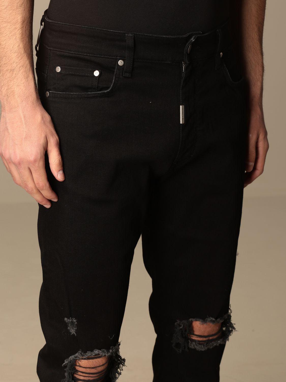 牛仔裤 Represent: 牛仔裤 男士 Represent 黑色 4