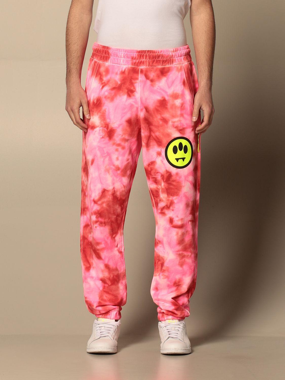 Pants Barrow: Pants men Barrow pink 1