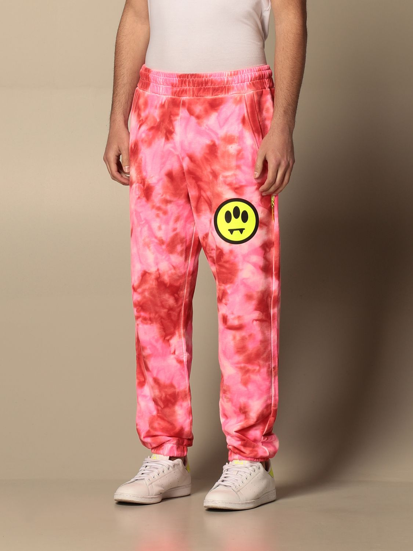 Pants Barrow: Pants men Barrow pink 4