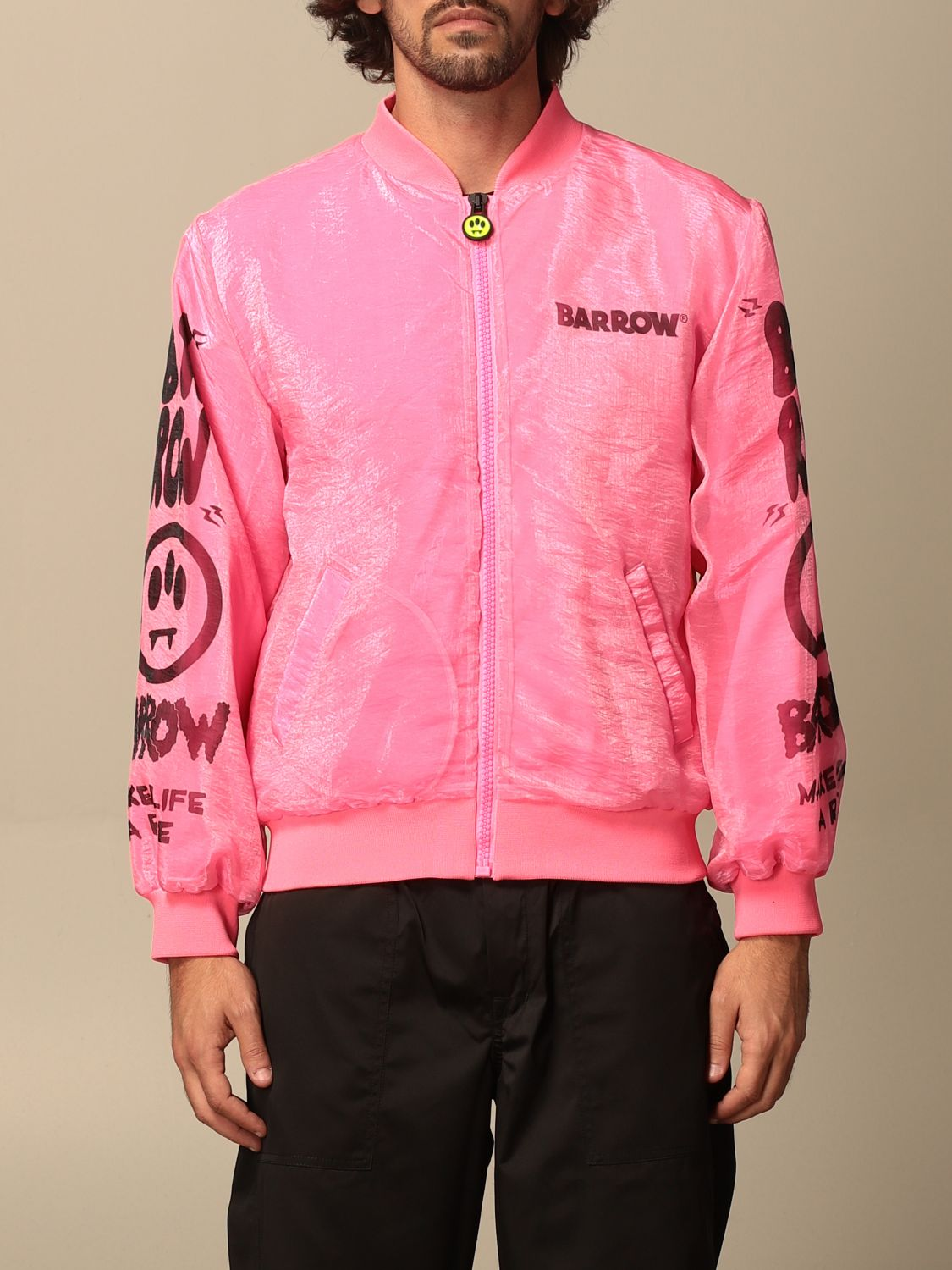 Jacket Barrow: Jacket men Barrow pink 1
