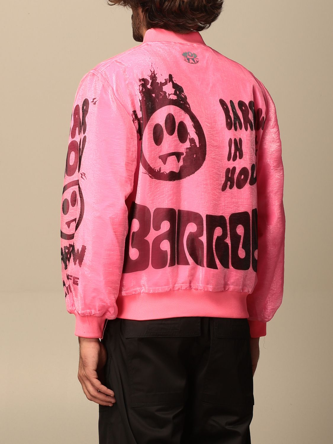Jacket Barrow: Jacket men Barrow pink 2