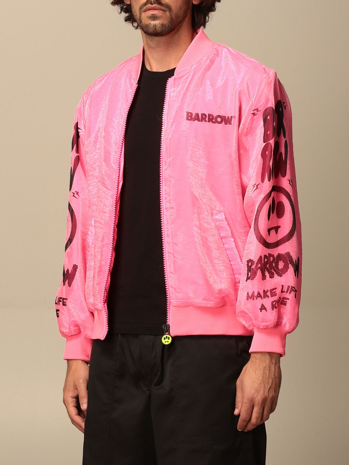 Jacket Barrow: Jacket men Barrow pink 3