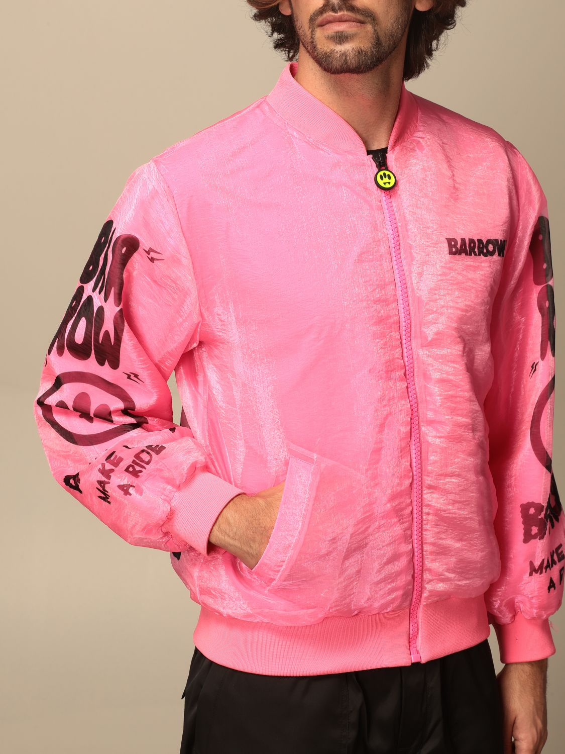 Jacket Barrow: Jacket men Barrow pink 4