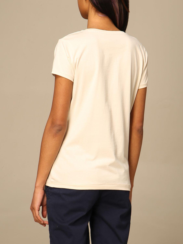 T-shirt Fred Mello: T-shirt Fred Mello in cotone con stampa bianco 2