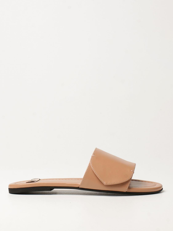 Flache Sandalen N° 21: Flache sandalen damen N° 21 pink 1