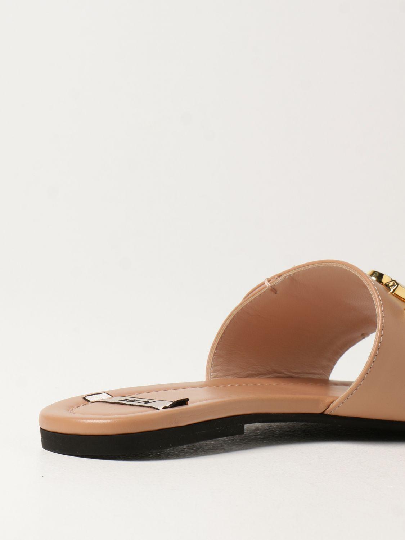Flache Sandalen N° 21: Flache sandalen damen N° 21 pink 3