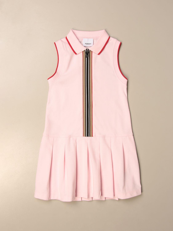 Vestido Burberry: Vestido niños Burberry rosa 1
