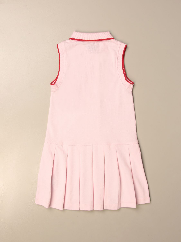 Vestido Burberry: Vestido niños Burberry rosa 2
