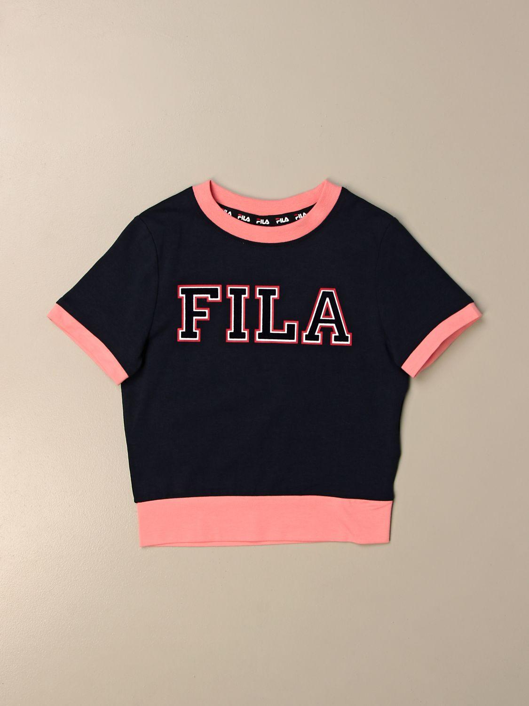 T-shirt Fila: Fila T-shirt with logo blue 1