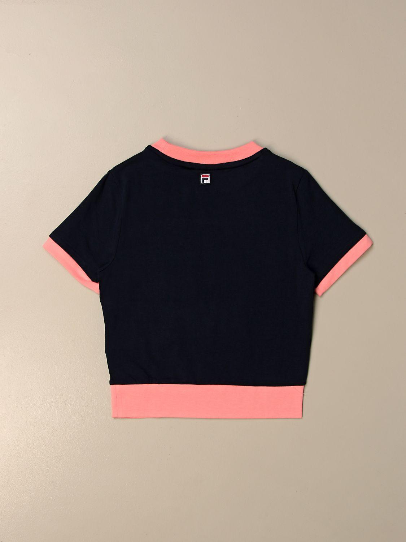 T-shirt Fila: Fila T-shirt with logo blue 2