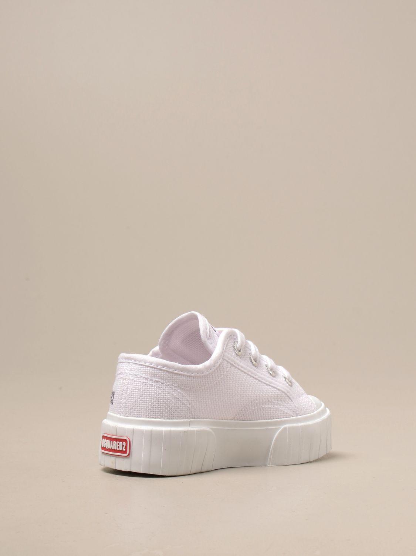 Обувь Dsquared2 Junior: Обувь Детское Dsquared2 Junior белый 3