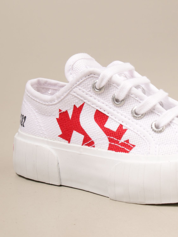 Обувь Dsquared2 Junior: Обувь Детское Dsquared2 Junior белый 4