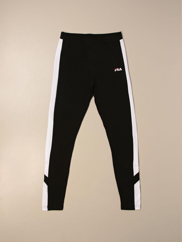 Pantalone Fila: Pantalone jogging Fila con logo nero 1