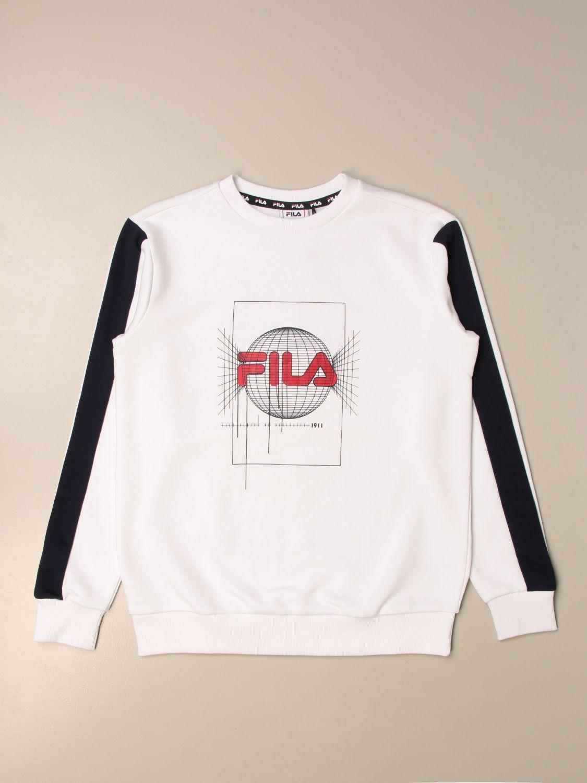 Maglia Fila: Felpa a girocollo Fila con logo bianco 1