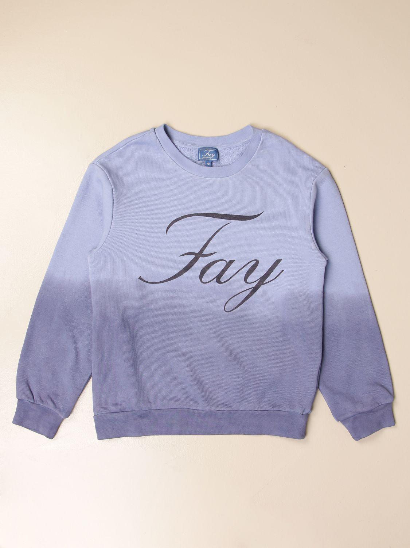 Jersey Fay: Jersey niños Fay azul oscuro 1