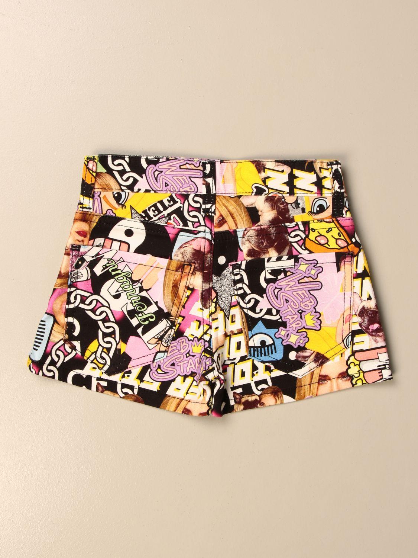 Pantalones cortos Chiara Ferragni: Pantalones cortos niños Chiara Ferragni fantasía 2