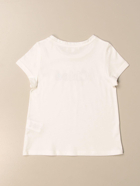 Camisetas Chloé: Camisetas niños ChloÉ blanco 2