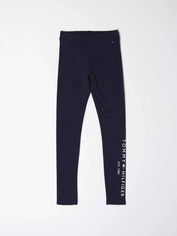 Pantalon Tommy Hilfiger: Pantalon enfant Tommy Hilfiger bleu marine 1