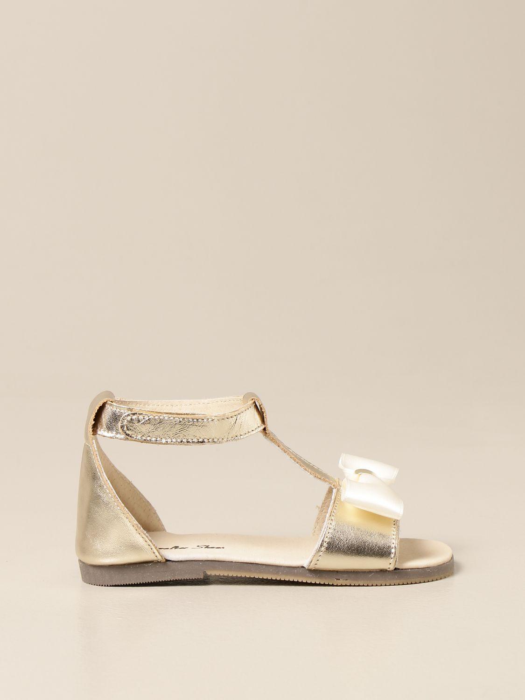 Zapatos Babywalker: Zapatos niños Babywalker oro 1
