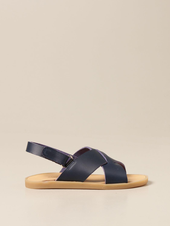 Zapatos Babywalker: Zapatos niños Babywalker azul oscuro 1