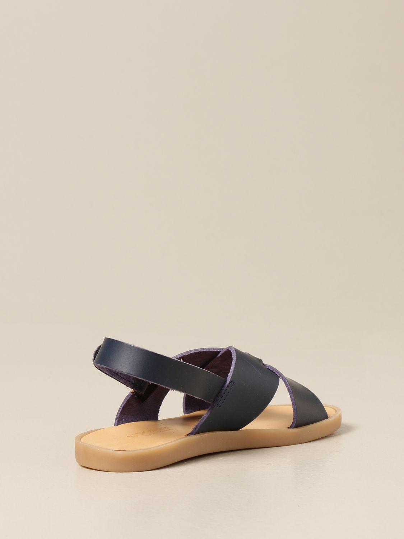 Zapatos Babywalker: Zapatos niños Babywalker azul oscuro 3
