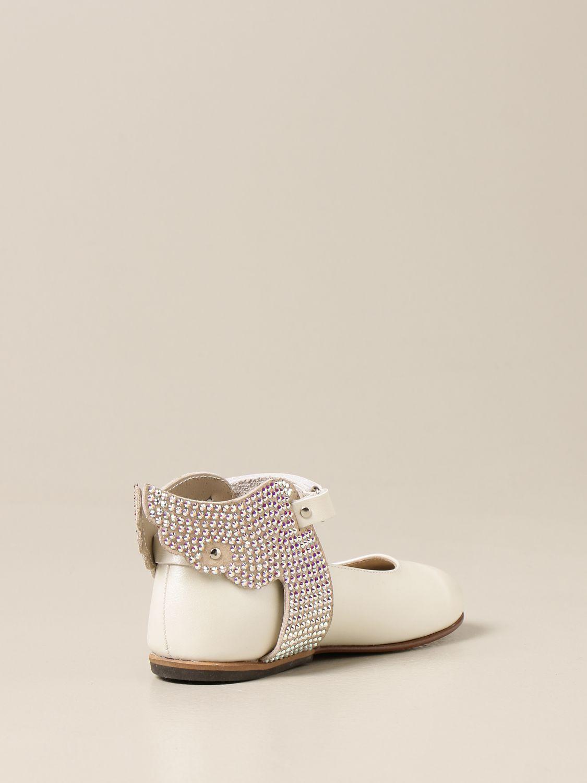 Zapatos Babywalker: Zapatos niños Babywalker blanco 3
