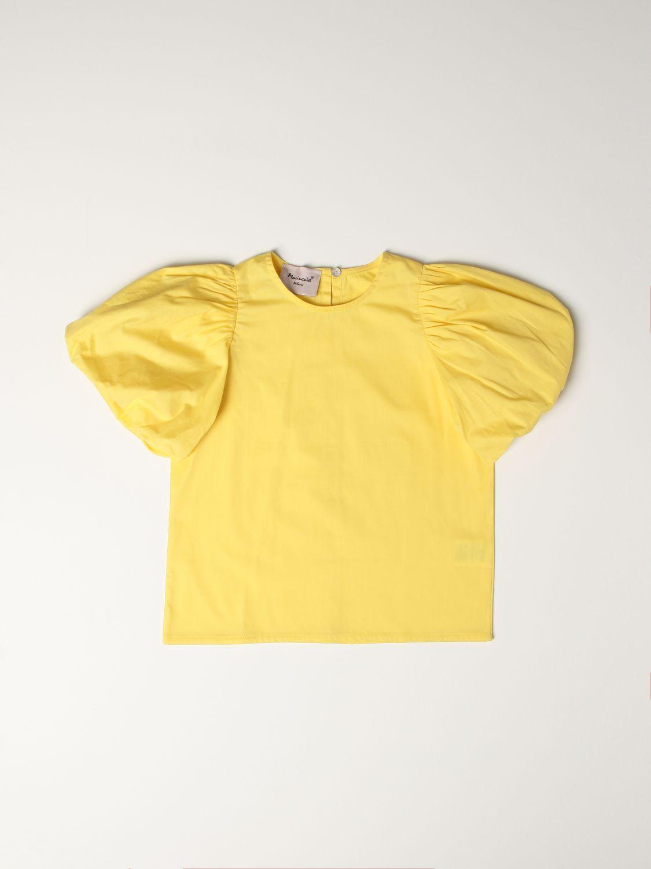 Top Mariuccia Milano: Shirt kids Mariuccia Milano yellow 1