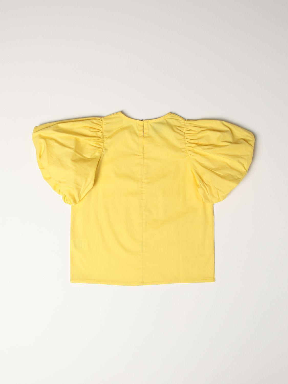 Top Mariuccia Milano: Shirt kids Mariuccia Milano yellow 2