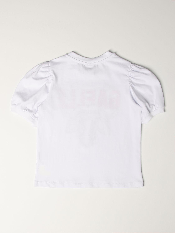 T-shirt Gaëlle Paris: T-shirt kids GaËlle Paris white 2
