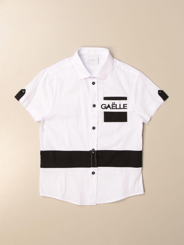 Camicia Gaëlle Paris: Camicia GaËlle Paris con logo bianco 1