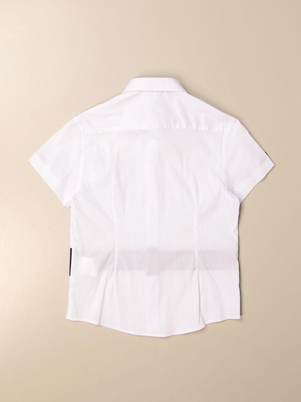 Camicia Gaëlle Paris: Camicia GaËlle Paris con logo bianco 2