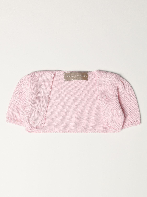 Куртка La Stupenderia: Куртка Детское La Stupenderia розовый 1
